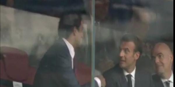 Le geste très galant de l'émir du Qatar face à Brigitte Macron pendant la finale (vidéo)