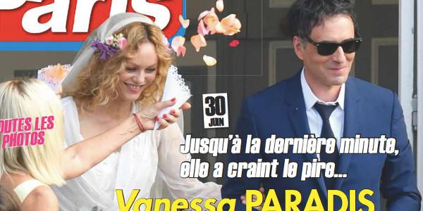 Jack Depp bien présent au mariage de Vanessa Paradis (photo)