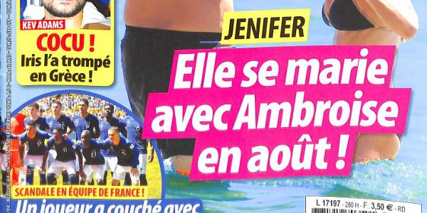 Le mariage de Jenifer prévu au mois d'août ? (photo)