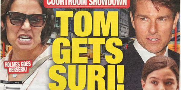 Tom Cruise « détruit » Katie Holmes en reprenant la garde de Suri (photo)