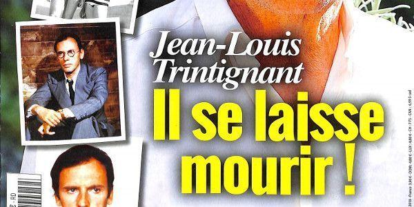 Jean-Louis Trintignant proche de la mort selon Delon