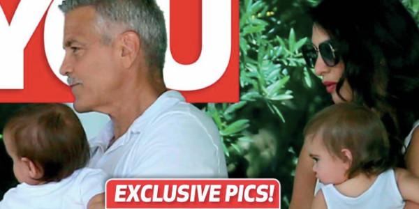 George Clooney,  une vie «dramatique» avec ses jumeaux