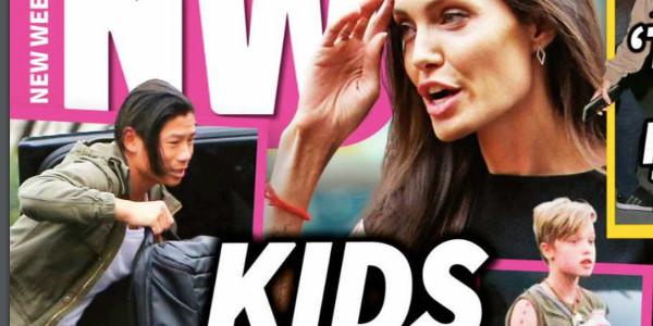 Angelina Jolie, ses enfants fuient chez Brad Pitt, la photo choc ! (photo)
