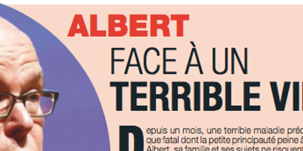 Charlène et Albert de Monaco « face à un terrible virus »