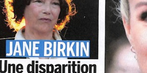 Jane Birkin inconsolable, face à une « tragique disparition »