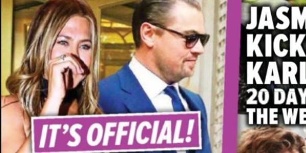Jennifer Aniston et Leonardo DiCaprio «ça chauffe», surpris échangeant un baiser ? (photo)