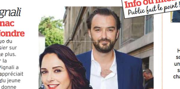 Julia Vignali in love,   Cyril Lignac lui fait perdre la tête