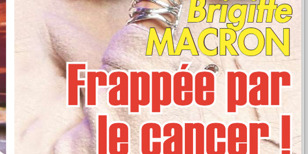 Brigitte Macron frappée par le cancer (photo)