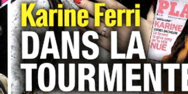 Karine Ferri en pleine tourmente, toute la vérité (photo)