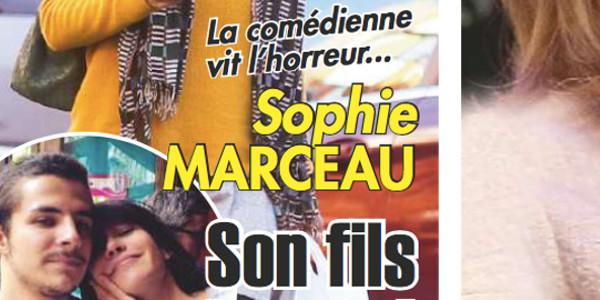 Sophie Marceau «vit l'horreur», elle ne supporte pas l'internement de son fils