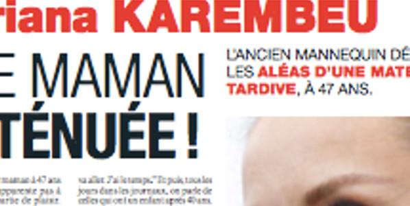 Adriana Karembeu exténuée, sa troublante confidence sur la maternité