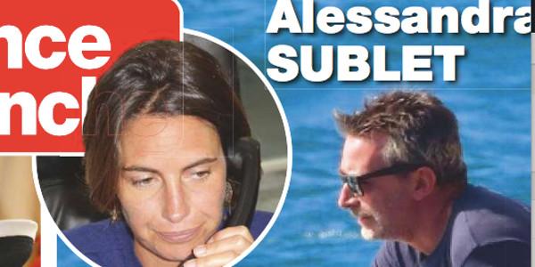 Alessandra Sublet, son ex recasé avec l'ex d'un célèbre chanteur  ? (photo)
