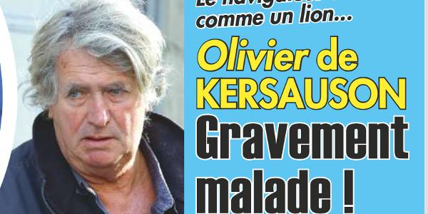 Extremement Olivier de Kersauson, gravement malade RN-34