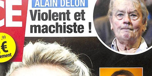 Alain Delon machiste et violent, l'accusation choc