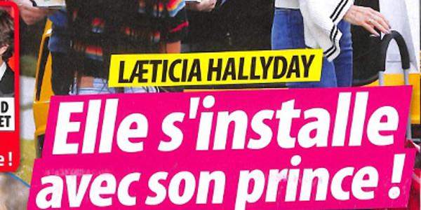 Laeticia Hallyday, elle s'installe avec son prince ! (photo)