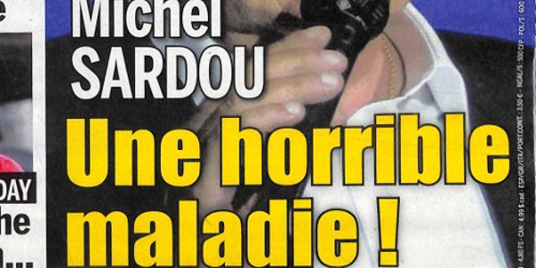 Michel Sardou très touché, une horrible maladie (photo)