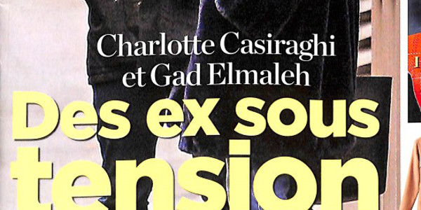Charlotte Casiraghi et Gad Elmaleh, des ex sous tension à cause de leur fils (photo)