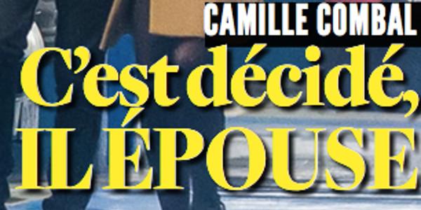 Camille Combal, c\u0027est décidé, il épouse Marie, détails sur le mariage
