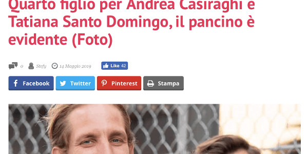 andrea-casiraghi-papa-tatiana-santo-domingo-enceinte