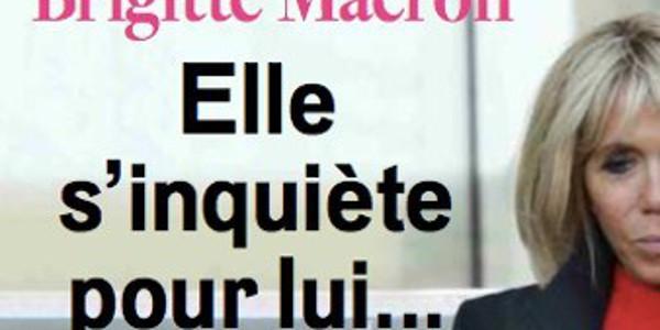 Brigitte Macron, grosse inquiétude pour son mari, cette raison «trouble»