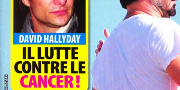 David Hallyday, il lutte contre le cancer (photo)