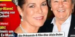 Caroline de Monaco - proche d'Alain Delon - son mari voit rouge