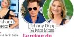 "Johnny Depp ""intrigue"" Vanessa Paradis - étonnante proximité avec Kate Moss"