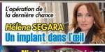 Hélène Ségara, terrifiante maladie oculaire - Une heureux nouvelle