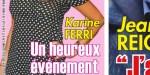 Karine Ferri, Yoann Gourcuff - 3 ème bébé - geste qui en dit long (photo)