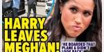 Meghan Markle enceinte et sous le choc - Irrité, Harry quitte L.A pour Farnborough (photo)