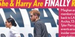 Meghan Markle, Prince Harry - retour secret en Angleterre - Terrible pression d'Elizabeth II (photo)