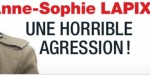 "Anne-Sophie Lapix, ""horrible"" agression, revanche - Coup de main d'un ministre (photo)"