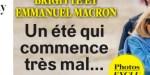 """Brigitte Macron, """"un été qui commence très mal"""", la cause de ses angoisses (photo)"""