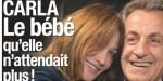 Carla Bruni accro à Nicolas Sarkozy - Fébrile, elle confirme son bébé (photo)