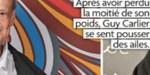 Guy Carlier - Perte de poids flippant - photo choc