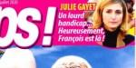 Julie Gayet, un lourd handicap, heureusement François Hollande est là