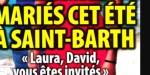"""Laeticia Hallyday - mariage maintenu à St-Barth - """"Laura, David, vous êtes invités"""" (photo)"""