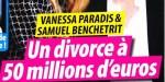 Samuel Benchetrit, Vanessa Paradis, divorce à 50 millions - fin de conflit - Une sortie change tout (photo)