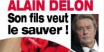 Alain Delon - en pleine déroute à Douchy - climat apaisé - clin d'œil de son fils (photo)