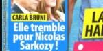Carla Bruni - l'angoisse pour Nicolas Sarkozy - sa douloureuse confidence