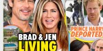 Jennifer Aniston, Brad Pitt s'installent ensemble à Bel-Air, Angelina Jolie en surchauffe (photo)