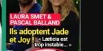 Joy Hallyday, adoptée par Pascal B, et Laura Smet - L'actrice ouvre son cœur