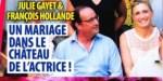 Julie Gayet, François Hollande - mariage intime, son immense regret- sa confidence