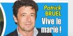 Patrick Bruel - mariage en préparation - régime - ça s'active (photo)