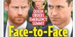 Elizabeth II - épreuve de force - Réunion de crise -  William et Harry convoqués (photo)