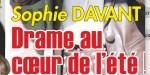 """Sophie Davant, drame """"en Bretagne"""", cet être cher qui manque cruellement - confidence"""