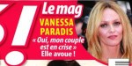 """Vanessa Paradis, """"couple en crise"""" - Liens très particulier avec Johnny Depp"""