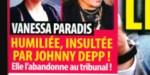 Vanessa Paradis - humiliée, insultée par Johnny Depp -  Elle brise le silence