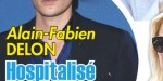 Alain-Fabien Delon, hospitalisation d'urgence, la maladie régresse, sa décision