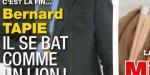 Bernard Tapie, face au cancer - coup de gueule sur C8 - son conseil aux condamnés